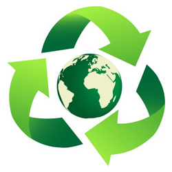 We'll properly reuse or recycle your used cartridges