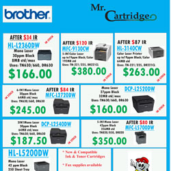 Our latest printer deals!
